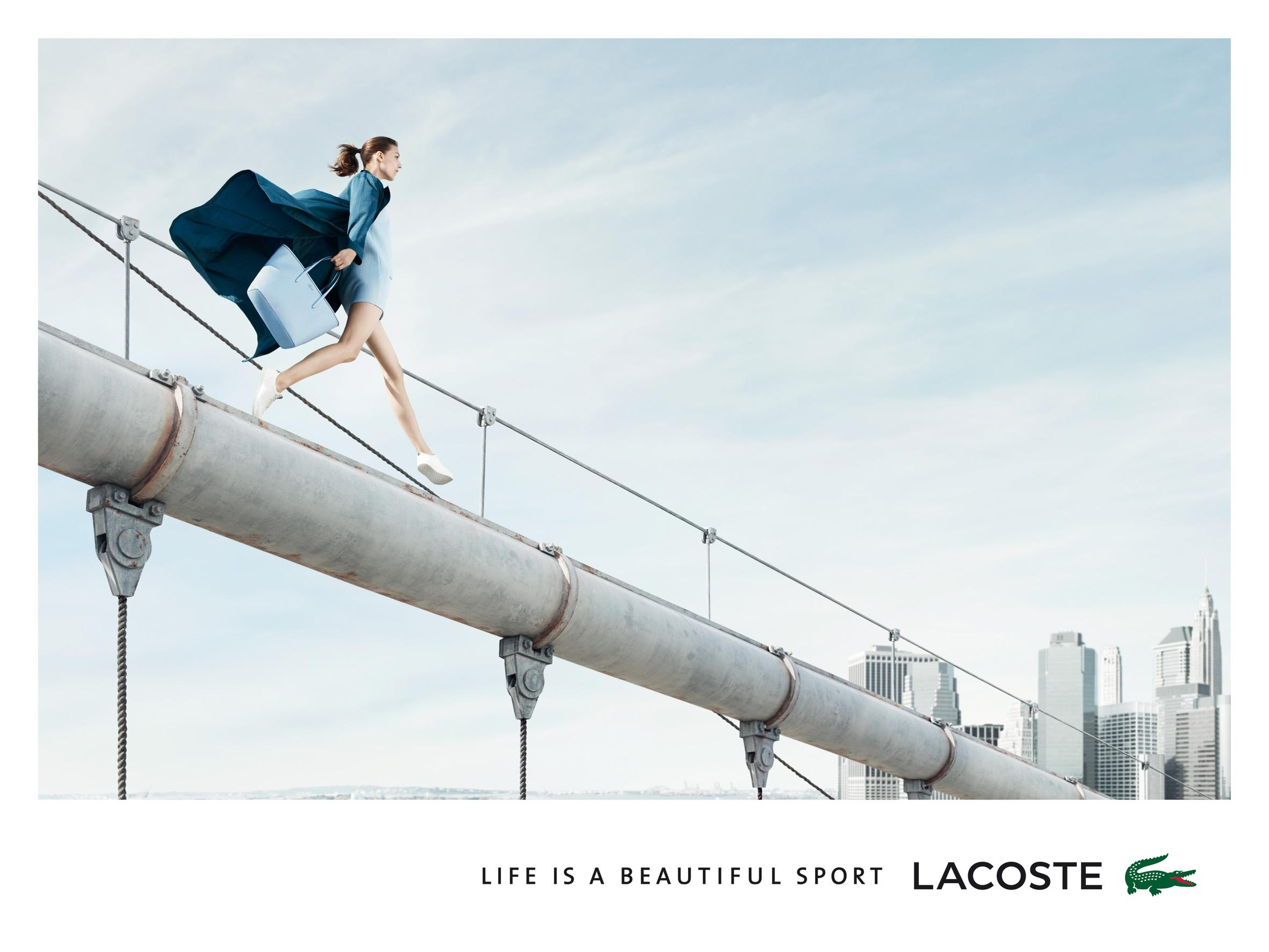Life is a beautiful sport - Lacoste