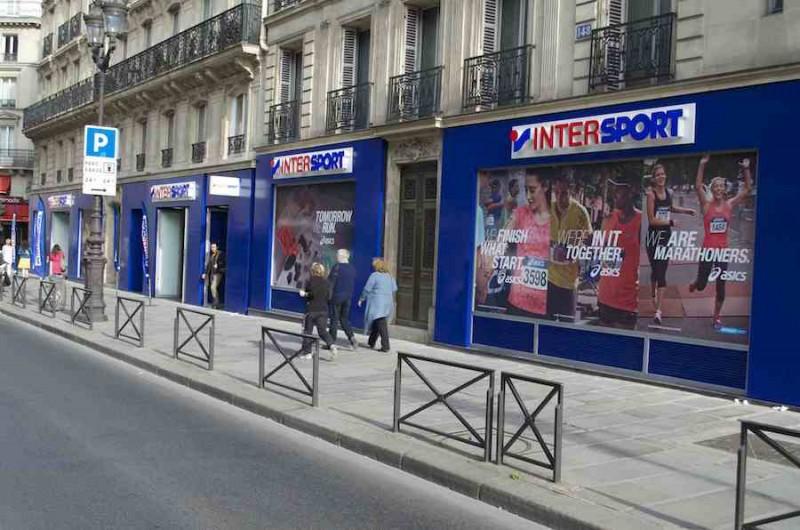 01080ce92494d0 Intersport ouvre son premier magasin à Paris!
