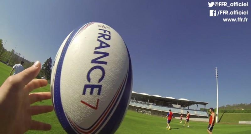 Vid o vivez un entrainement de rugby 7 comme si vous y for Interieur sport rugby