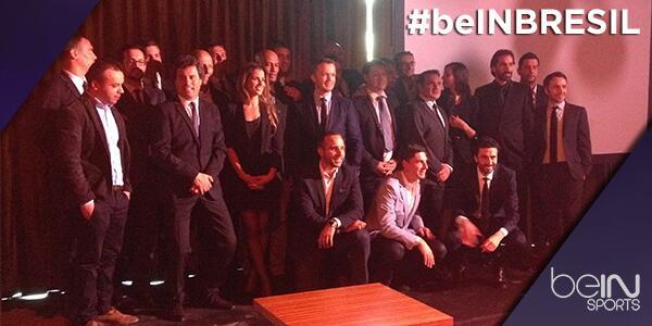 équipe de consultants beIN Sports pour le mondial 2014