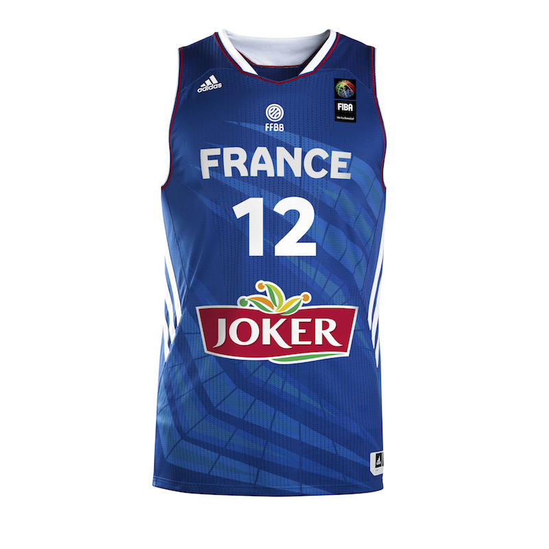 Maillot equipe de france basket