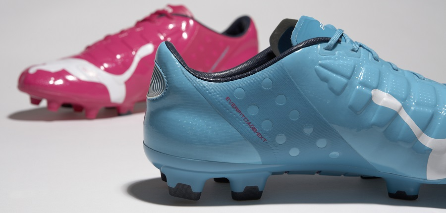 puma evopower bleu rose