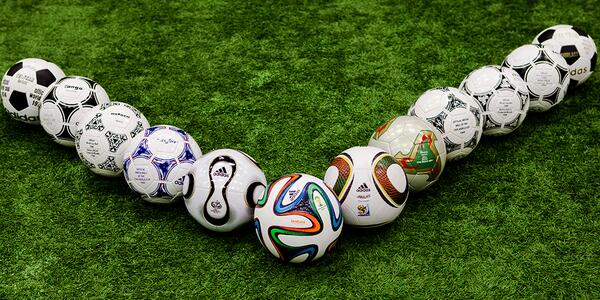 L'ensemble des ballons depuis 1970