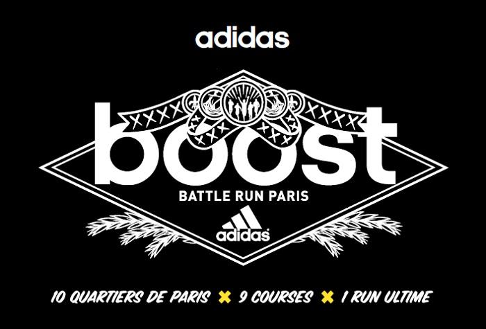 Adidas lance la Boost Battle Run! acca7e5df806