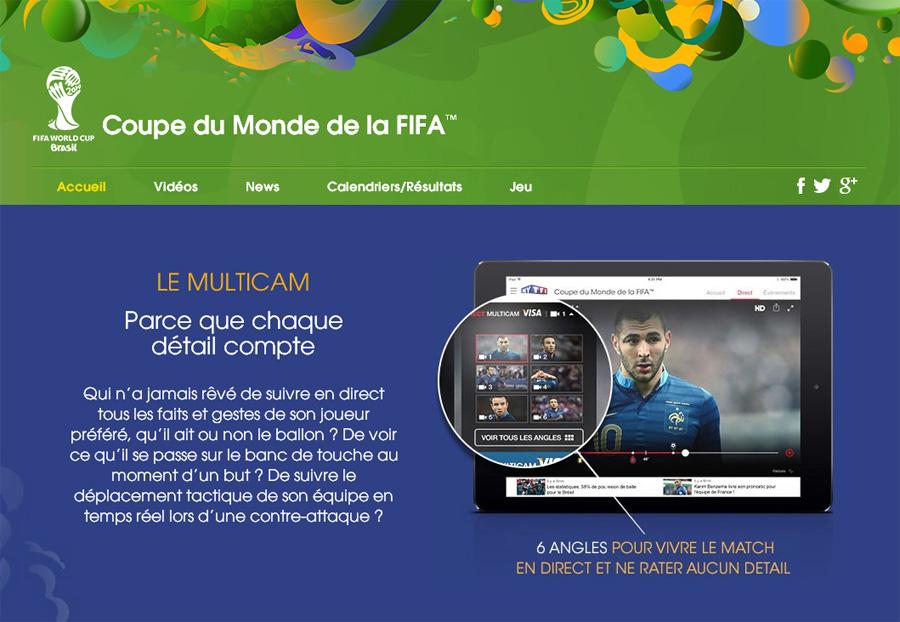 Tf1 surfe sur la vague digitale pour la coupe du monde - Match en direct gratuit coupe d afrique ...