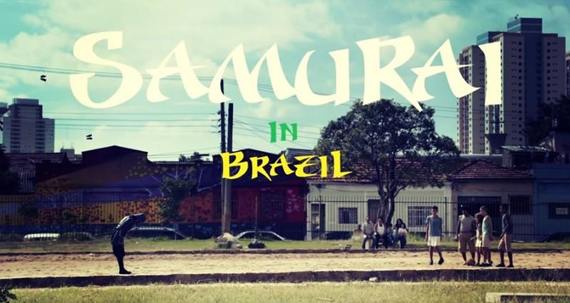 Un samouraï enflamme les rues au Brésil! 6beb7bcfde4c