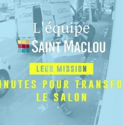 Saint-Maclou transforme votre salon en terrain de foot en 90 minutes!