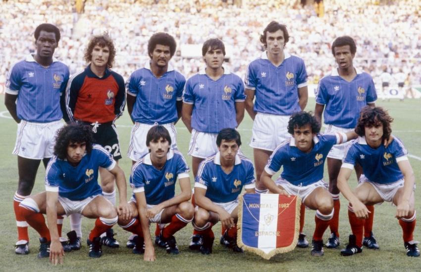 Revivez france allemagne 1982 jeudi 3 juillet sur w9 - Coupe du monde 1994 equipe de france ...