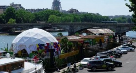 Kia Cabana : une oasis foot-marketing sur les bords de la Seine!