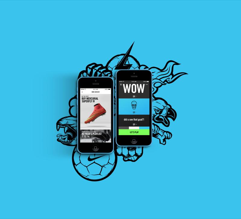 Nike Football App, la nouvelle application mobile by Nike