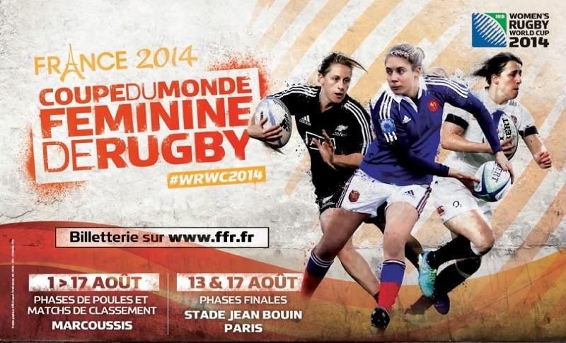 Coupe du monde f minine de rugby la france l 39 honneur - Coupe du monde 2014 rugby ...
