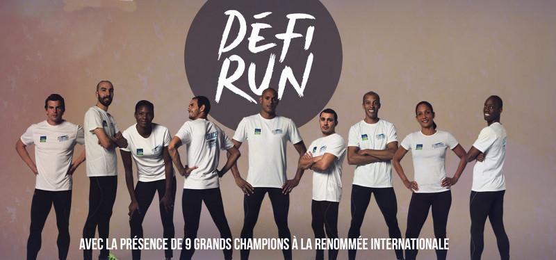 La Défi Run est l'occasion de se frotter aux champions français de l'athlétisme!