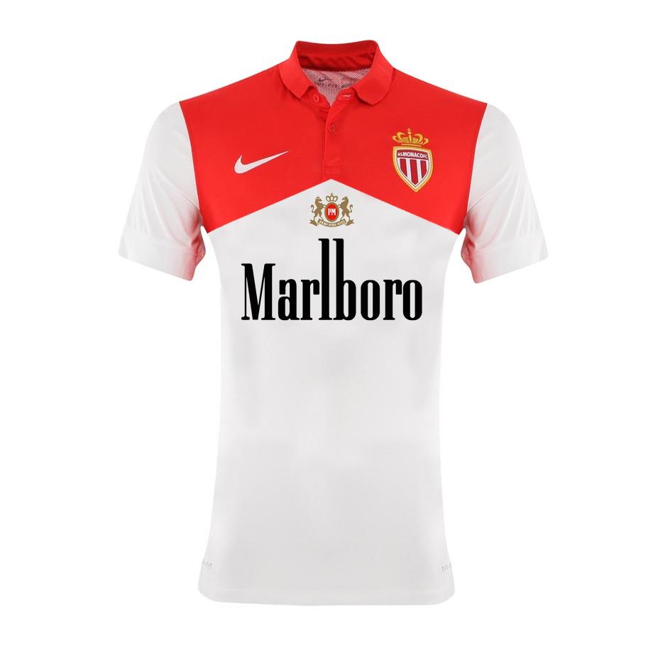 Maillot de l'AS Monaco sponsorisé par Marlboro