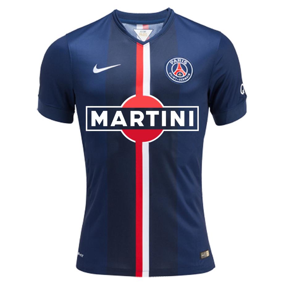 Maillot du PSG sponsorisé par Martini