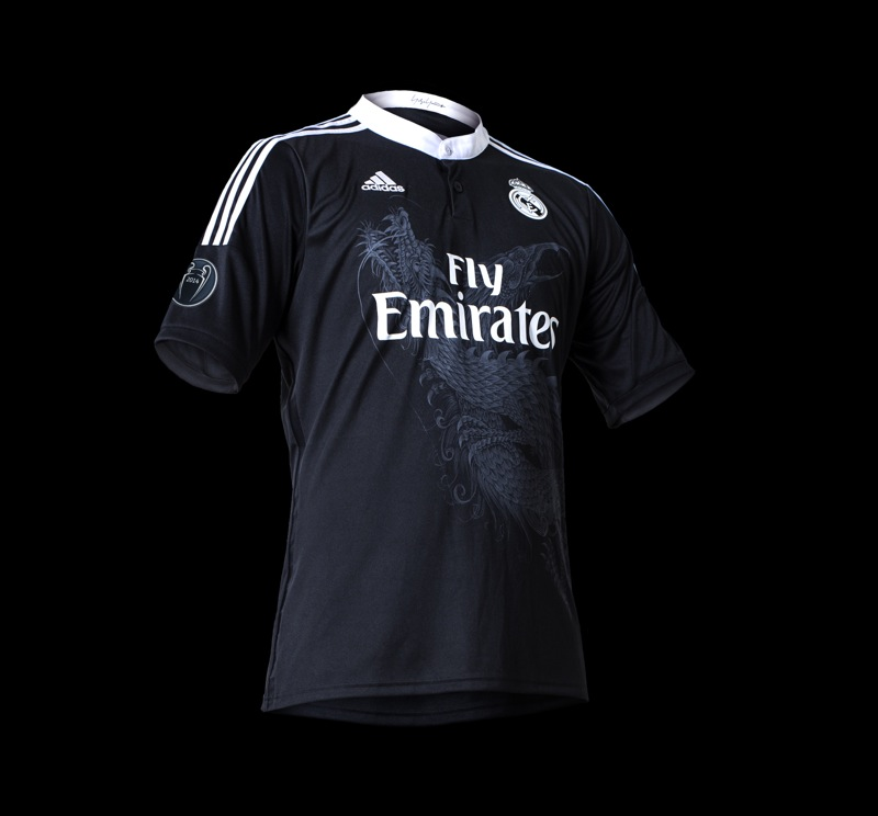 yohri yamamoto dessine le maillot du real madrid. Black Bedroom Furniture Sets. Home Design Ideas