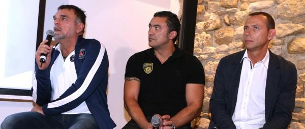 Philippe Gardent, Patrick Cazal et Patrice Canayer