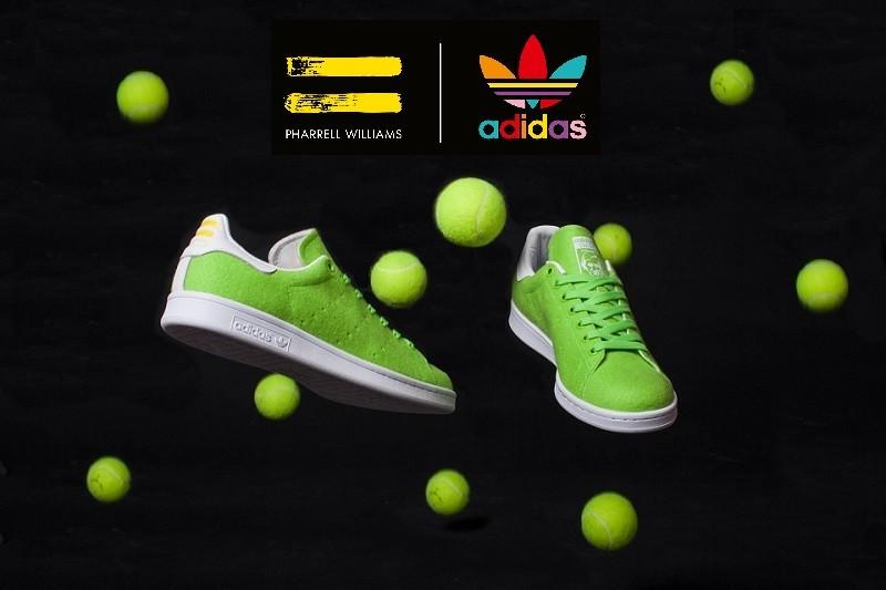 adidas x Pharrell Williams: des Stan Smith avec la texture d'une