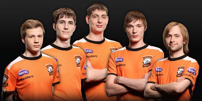 Une équipe sponsorisée de jeunes joueurs professionnels de DotA