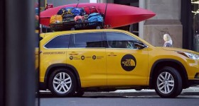 The north face piege passagers du taxi