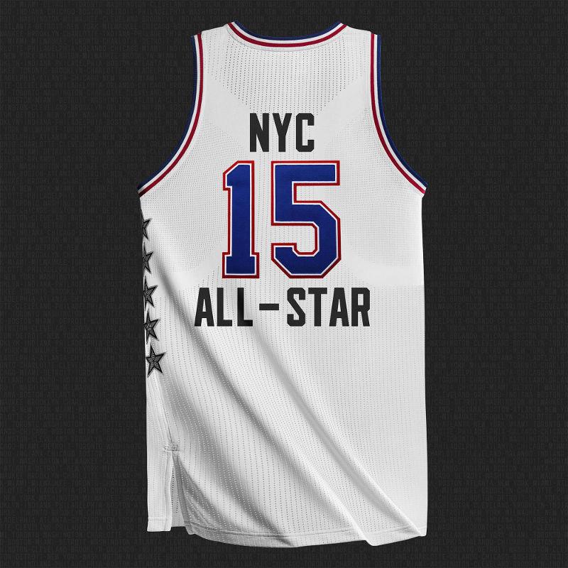All Star Game 2015: maillot blanc de la conférence Est