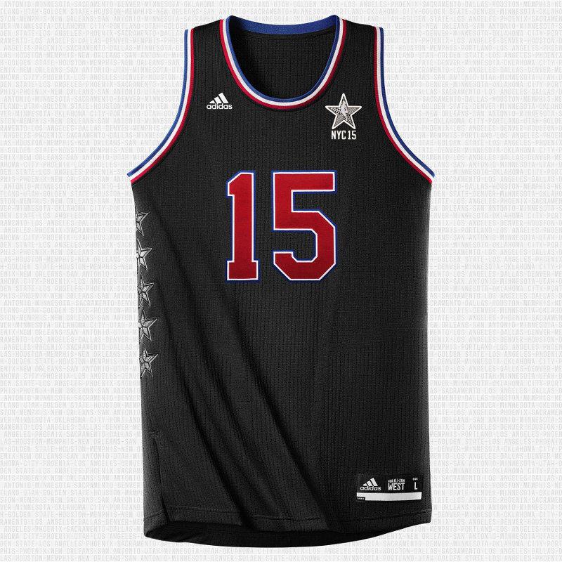 All Star Game 2015: maillot noir de la conférence Ouest