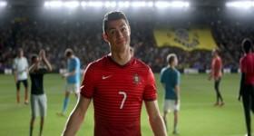 ronaldo dans la pub Nike winner stays