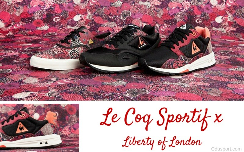 bbf45d8e3159 Après Nike, Liberty of London collabore avec Le Coq Sportif
