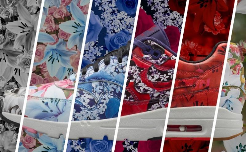 low priced 7d46d 3fc97 Le moindre que lon puisse dire cest que Nike croit au pouvoir des fleurs!  Après le succès de sa collaboration avec la Liberty of London, ...