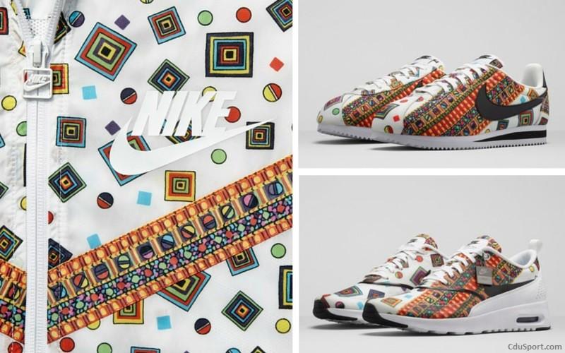 Nike x Liberty of London nous surprennent avec le motif Merlin
