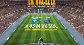 Auxerre-PSG: Avec PMU, vivez la finale de la Coupe de France à 45 mètres de hauteur