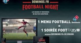 Domino's Pizza offre la Ligue des Champions sur beIN Sports Connect