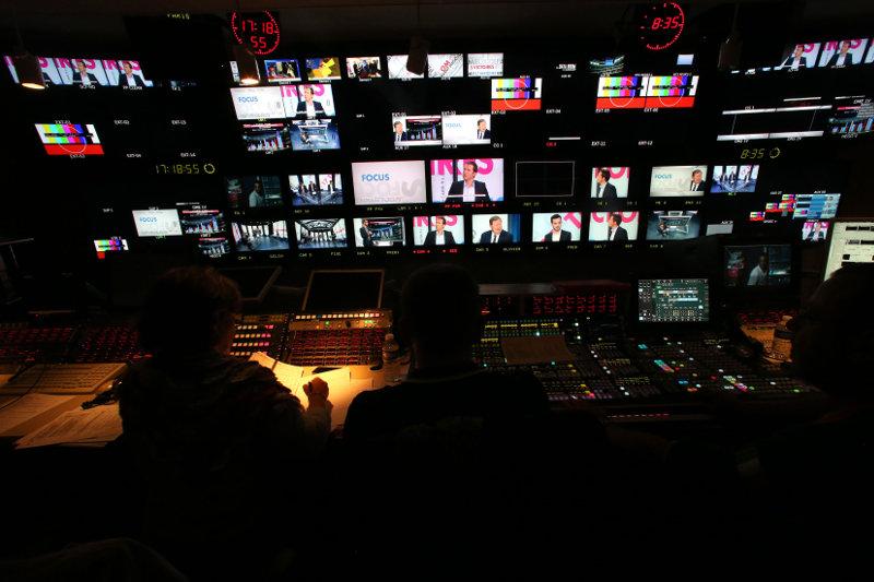 Régie de Canal plus pour l'émission Data Room