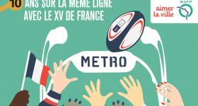 A la découverte du RATP Rugby Tour