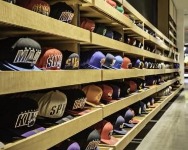 Image magasin de casquettes NBA