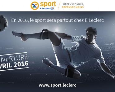 leclerc e-commerce sport