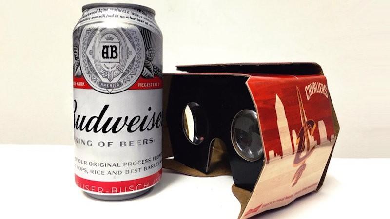 cavaliers cleveland budweiser réalité virtuelle