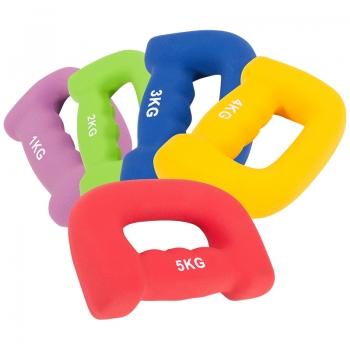 haltère couleur ergonomique