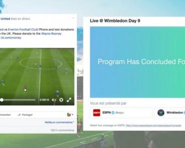 live streaming sport facebook vs twitter