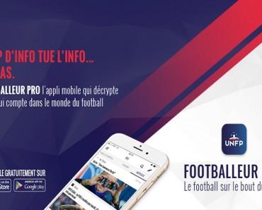 application Footballeur Pro UNFP