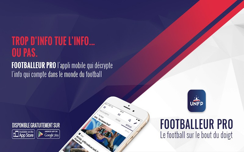 application Footballeur Pro UNFP