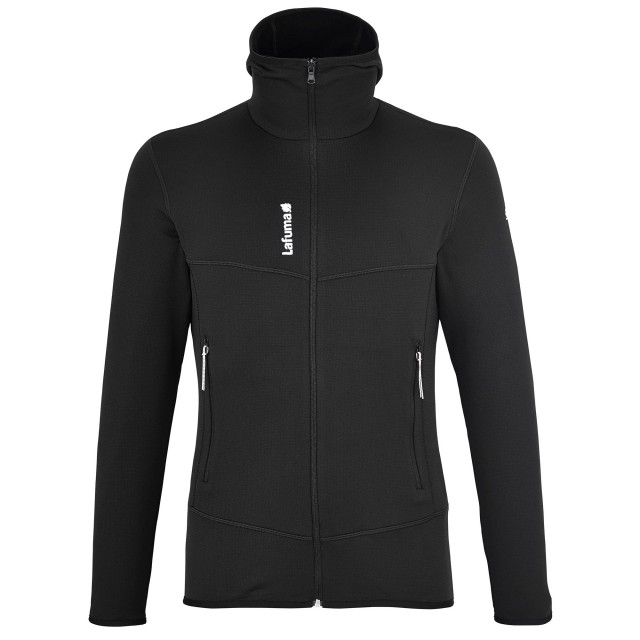 polaire-randonnee-homme-track-thermal-hoodie-noire