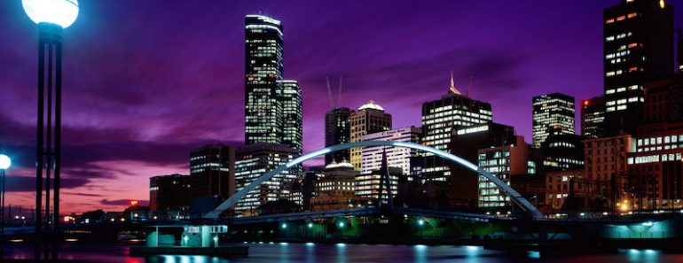 melbourne photo de nuit