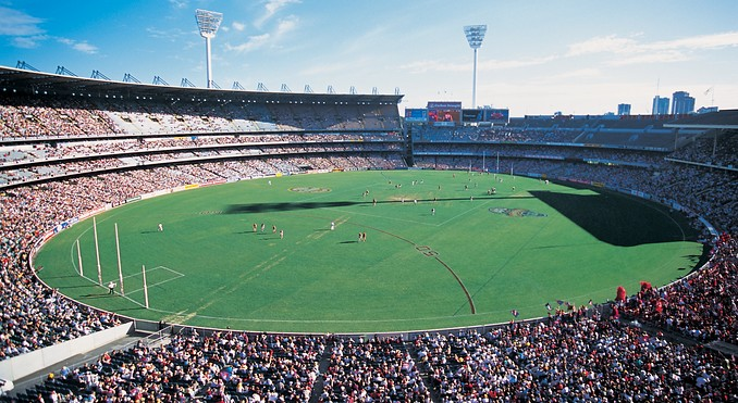 stade Melbourne Cricket football australien