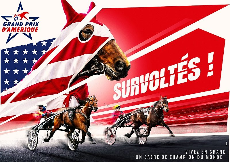 Affiche du grand prix d'amérique 2019
