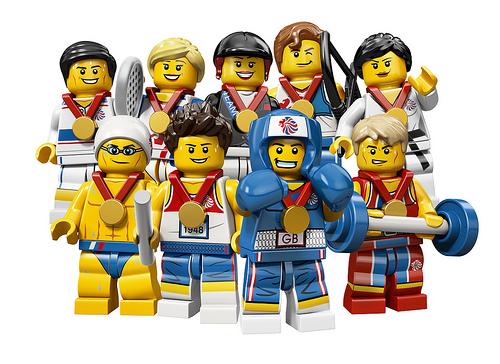 Lego célèbre les Jeux Olympiques de Londres