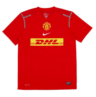 DHL & Manchester United - Maillot d'entrainement