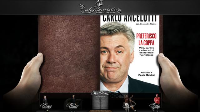 La biographie d'Ancelotti aurait mérité un meilleur traitement