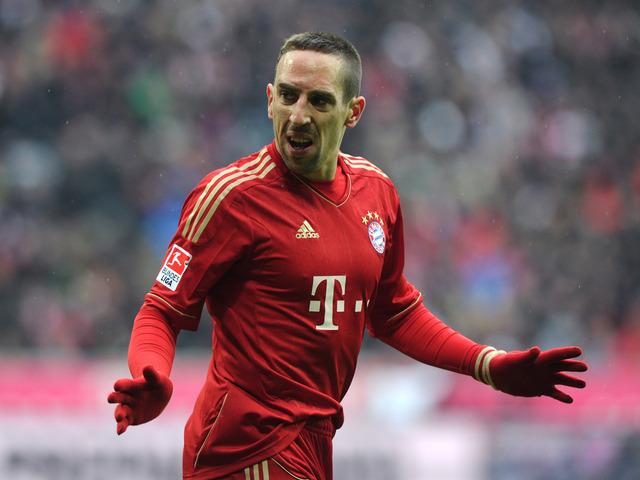 Franck Ribéry porte le maillot du Bayern Munich