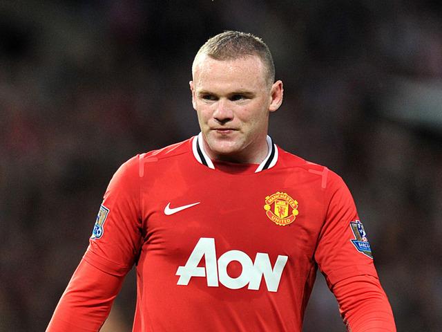 Wayne Rooney porte le maillot de Manchester United