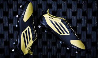 Adidas F50 gold Black by Karim Benzema